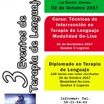 3 eventos de terapia de lenguaje